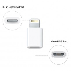 مبدل Micro USB To Lightning Adapter فشن