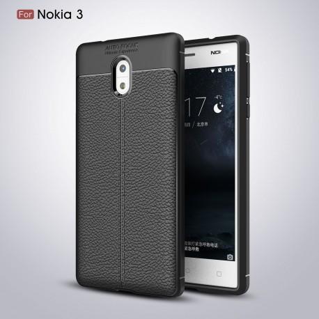کاور طرح چرم Nokia 3