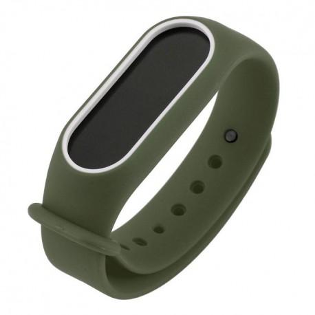 بند دستبند سلامتی شیائومی Mi Band 2 مدل دور رنگ