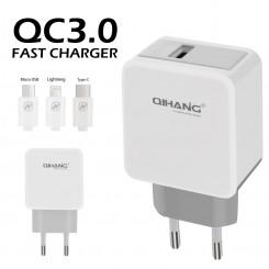 شارژر QIHANG Quick charge 3.0